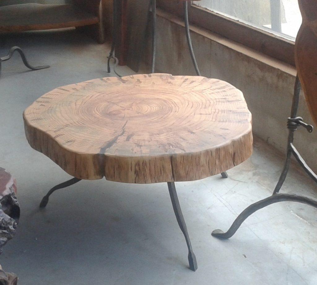 שולחן סלון משולב נפחות