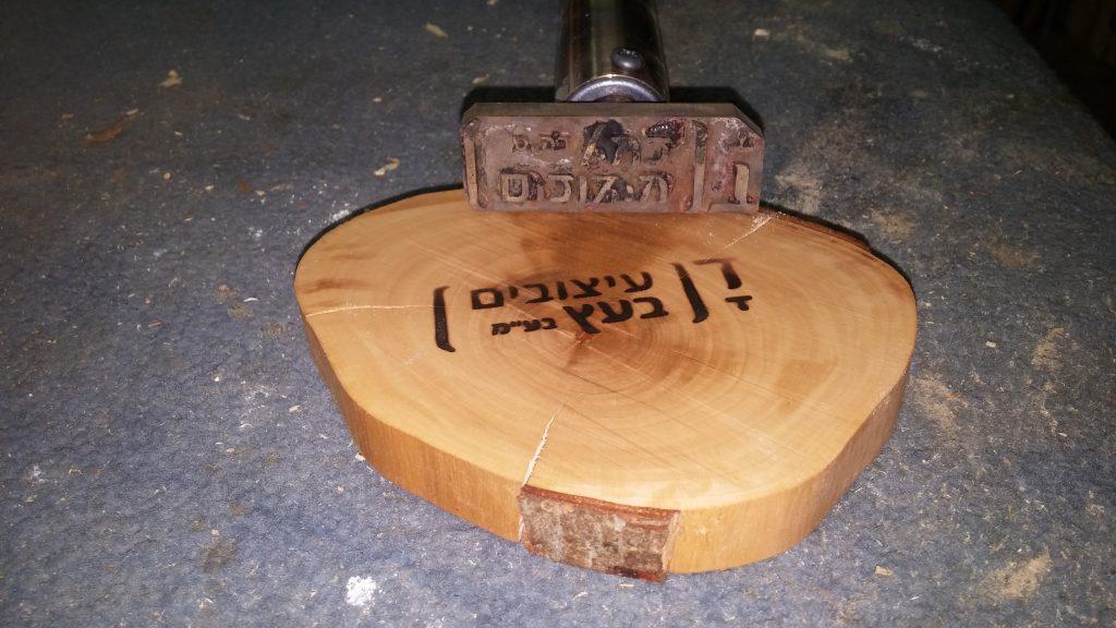 דן עיצוב בעץ מלא